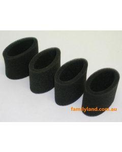 Eagle 257033 Air Filter Outer Foam .21 (4pcs)