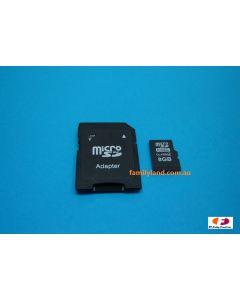 Flycamone FC3008 8GB MICRO SD-CARD INCL. CARD ADAPTOR