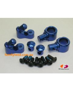Great Vigor  SEM1671BL UPGRADE ROLL BAR STOPPER SET (BLUE)/Cage