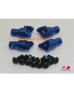 Great Vigor  SEM1674BL UPGRADE ROLL BAR MOUNT SET (BLUE)/Cage