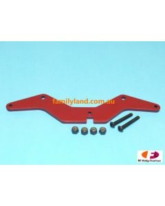 Great Vigor XV30762RE Servo Saver Plate 3mm Red Color (Cage)