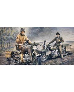 Italeri 322 U.S. Motorcycles 1/35