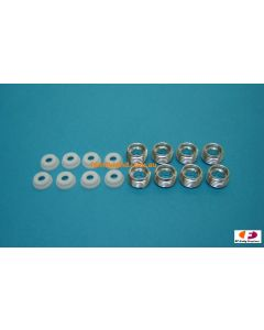 K factory K1449T G4 Alu. Pivot Ball Nut & Teflon Washer