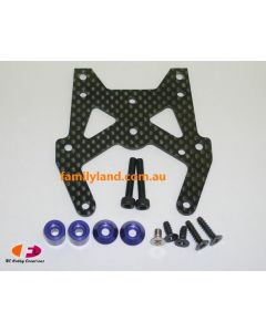 Kyosho VZW111 SP Carbon Front Plate Set (V1S3)
