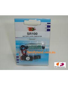 Model Engines SR100 Battery Level Indicator