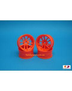 SPEEDLINE SL186O7 10-Spoke Wheel Offset 6 (4pcs/ Orange)1/10