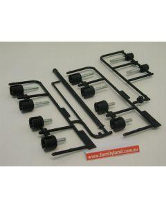 Tamiya 9005756 DF-02 Drive Shaft Set E Parts /Gravel Hound