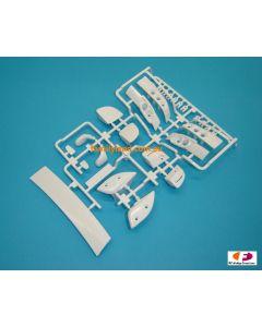 Tamiya 9005836 Wing & Light Bucket H Parts for Mazda RX7