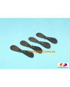 Twister 6605320 Micro Ninja Tail Rotor Blades (4pcs) (TMN-004)