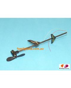 Twister 6605330 Micro Ninja Tail Boom Assbly w/Motor  (TMN-005)