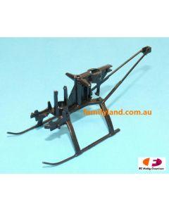 Twister 6605340 Micro Ninja Main Frame & Landing Gear (TMN-006)