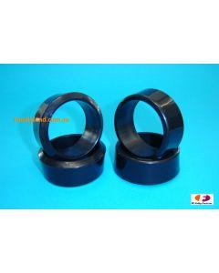 Vision Slick Drift Tyres w/5 Degree Camber (26mm/4pcs) 1/10