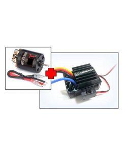 "Absima 2100014 EP Motor ""Thrust B-Spec"" 17T + 1:10 Brushed ESC 40A"