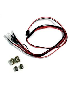 Absima 2320041 LED Set White/Red with Aluminum Holder