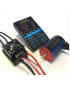 Ace Power HWAP50BL3250 HW B/Less 1/10th Combo 3250KV/ 50Amp WP ESC
