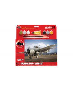 Airfix 55214 Grumman F4F-4 Wildcat Starter Set 1/72