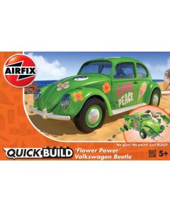 Airfix J6031 QUICK BUILD Volkswagen Beetle 'Flower Power'