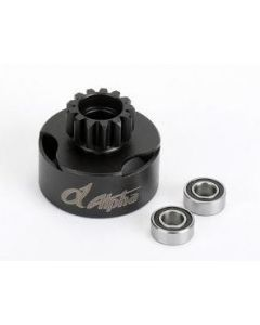 Alpha E63-BU02113 Clutch Bell 13T with vented + Bearing 5x10mm