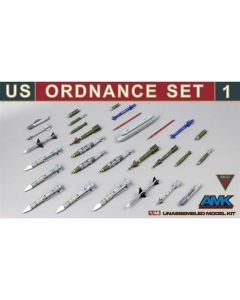 AMK AMK88E01 US Ordnance Set #1 1/48
