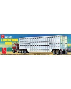 AMT1106 Wilson Livestock Van Trailer 1/25