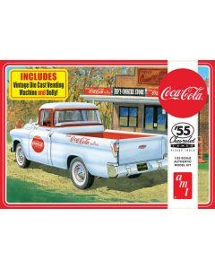 AMT 1094 1955 Chevy Cameo Pickup (Coca-Cola) 1/25