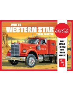 AMT 1160 White Western Star Semi Tractor (Coca Cola) 1/25