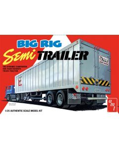 AMT 1164 Big Rig Semi Trailer 1/25
