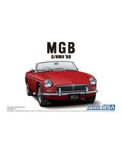 Aoshima 056851 BLMC G/HM4 MG-B MK-2 '68 1/24