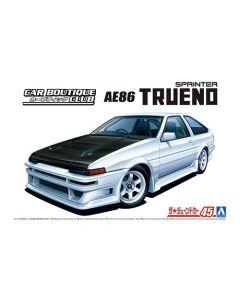 Aoshima 058633 Car Boutique Club AE86 Trueno '85 (Toyota) 1/24