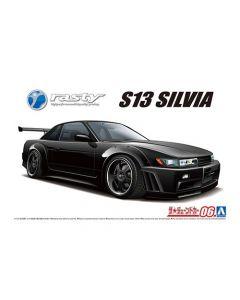 Aoshima 059470 Rasty PS13 Silvia '91 (Nissan) 1/24