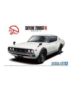 Aoshima 059517 Nissan KPGC110 Skyline HT2000GT-R '73 1/24