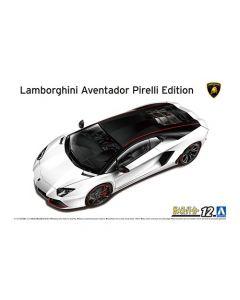 Aoshima 061213 '14 Lamborghini Aventador Pirelli Edition 1/24