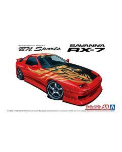Aoshima 061503 BNSports FC3S RX-7 '89 (Mazda) 1/24