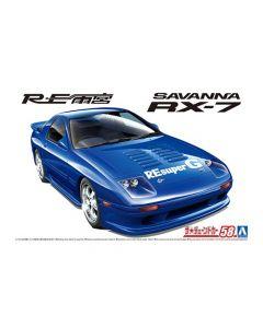 Aoshima 062074 RE Amemiya FC3S RX-7 '89 (Mazda) 1/24