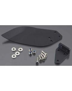 Aquacraft AQUB9539 Hydro Turn Fin 2mm CNC Black Anodized