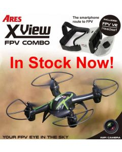 Ares X-VIEW w/WIFI CAMERA & SMARTPHONE TYPE VR GOGGLES (Mode 1)