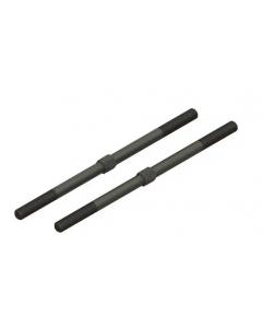 Arrma ARA340156 Steel Turnbuckle M6 x130mm, Black, 2pcs, 8S BLX