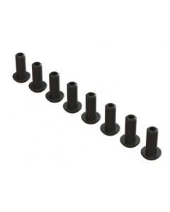 Arrma AR727410 DOUBLE SOCKET BUTTON HEAD SCREW M4x10mm (8PCS)