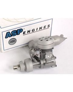 ASP 40M .40 Marine Engine Wheel Start Includes Muffler, Flywheel