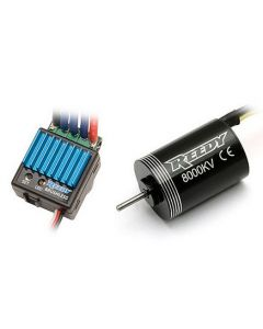 Team Associated 934 REEDY Micro Brushless ESC with 8000kV Micro Brushless Motor