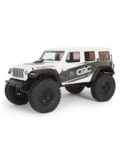 Axial SCX24 2019 Jeep Wrangler JLU CRC 1/24 Crawler RTR, White