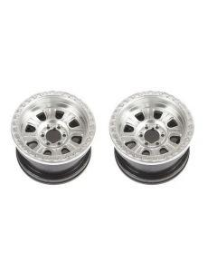 Axial AXI43007 2.2 Raceline Monster Beadlock Wheel Satin, 2pcs 1/8