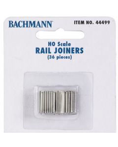 Bachmann 44499 RAIL JOINERS (HO SCALE) 36pcs
