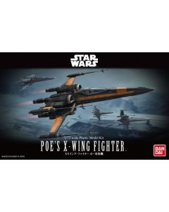 Bandai 0210500 Star Wars Poe's X-Wing Fighter 1/72