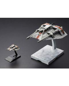 Bandai 0217734 Star Wars 1/48 & 1/144 Snowspeeder Set