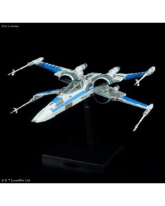 Bandai 0223296 Star Wars Blue Squadron Resistance X-Wing Fighter 1/72
