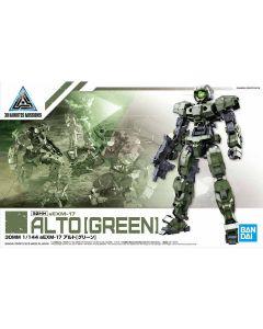 Bandai 5058837 30MM eEXM-17 Alto (Green) 1/144