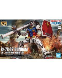 Bandai 5058929 HG RX-78-02 Gundam (Gundam The Origin Ver.) 1/144