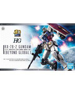 Bandai G5058205 HG RX-78-2 Gundam (Beyond Global) 1/144