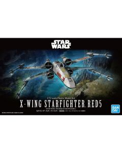 Bandai G5061554 Star Wars X-Wing Starfighter RED 5 (Star Wars: The Rise of Skywalker) 1/72